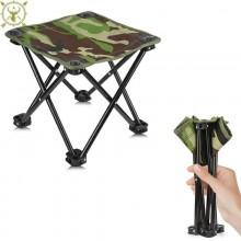 Hunting Mart Folding Portable Aluminium Stool