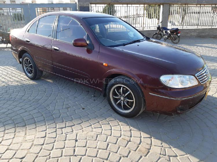 Nissan sunny ex saloon 1.3 (cng) 2005
