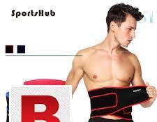 Waist belt for gym