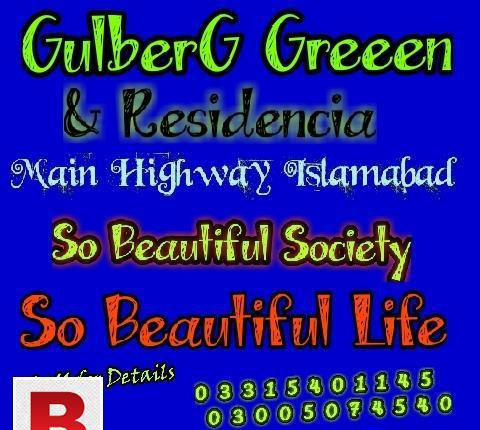 Plot for sale in gulberg islamabad
