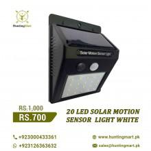 LED solar motion white light