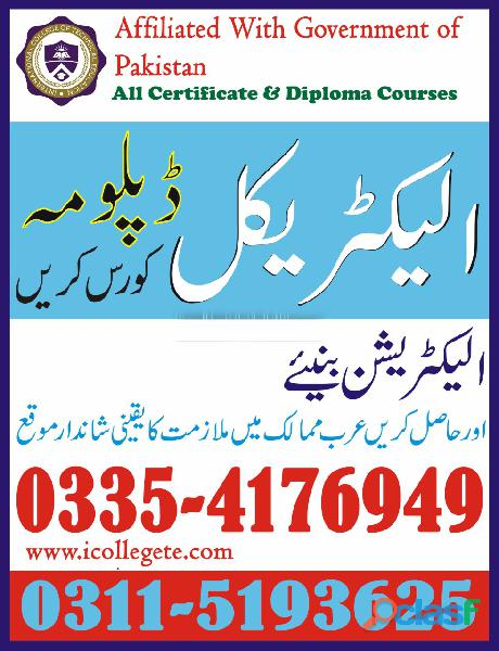 Auto Car Electrician Course in Sialkot Faisalabad 1
