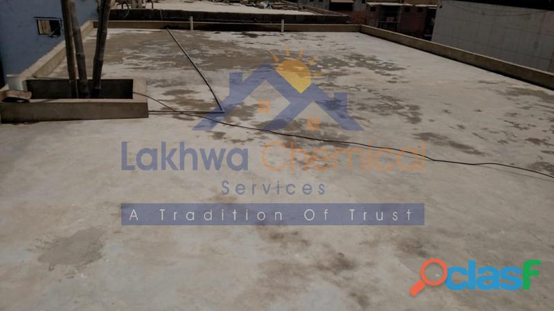 Roof heat proofing in pakistan