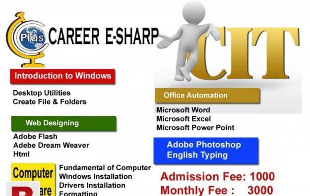 CIT Gulshan Nipa karachi career e sharp