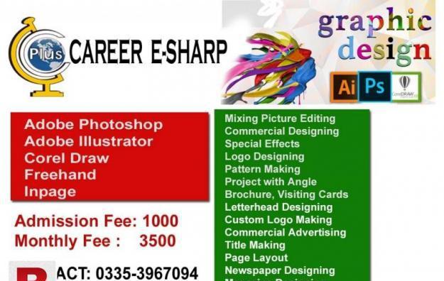 Graphics Designing career e sharp