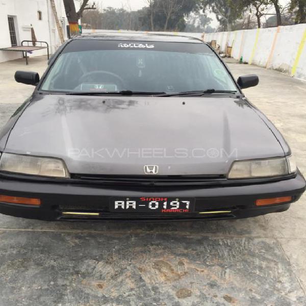 Honda civic ex 1987
