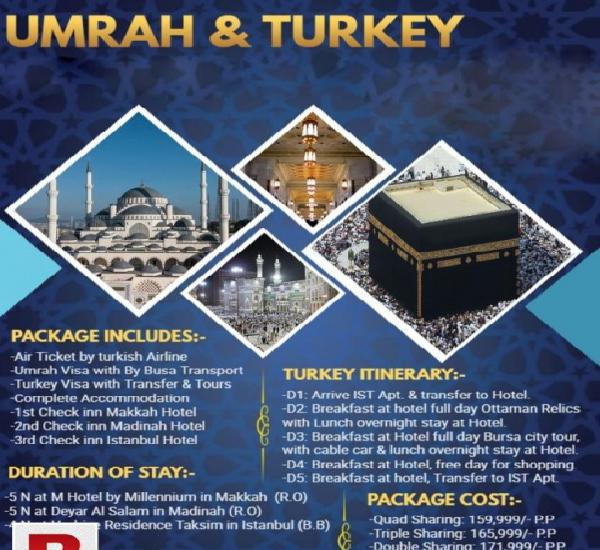 UMRAH AND TURKEY
