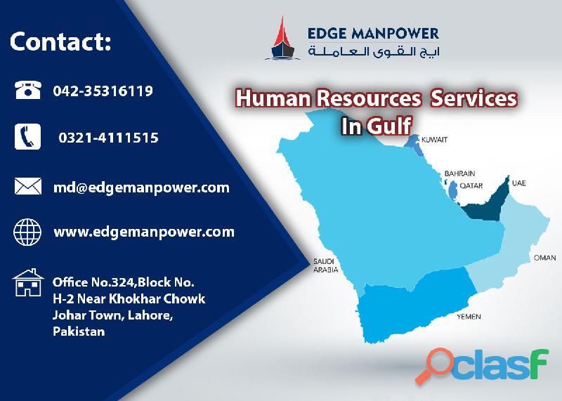 Human Resource Services In Gulf   Edge Manpower Services