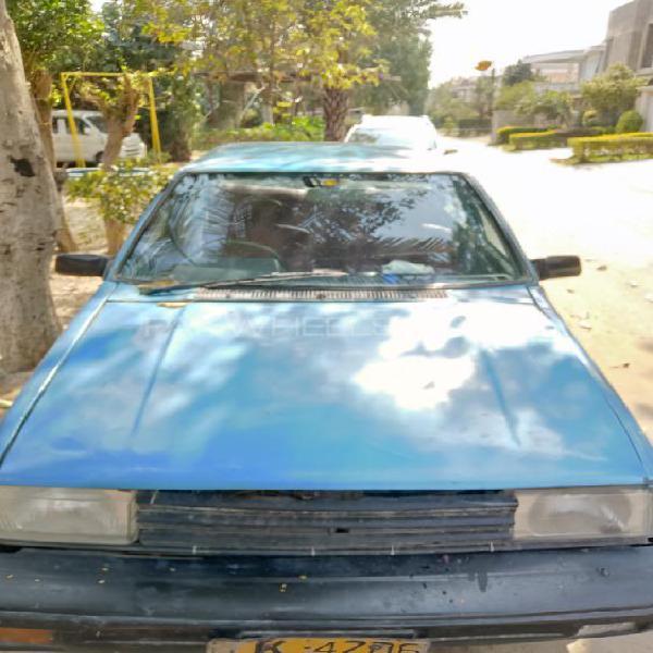 Nissan sunny ex saloon 1.3 1983