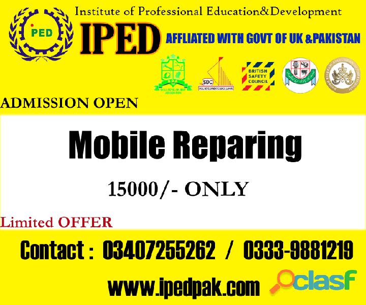 Mobile hardware repairing course in islamabad, rawalpindi, pakistan.