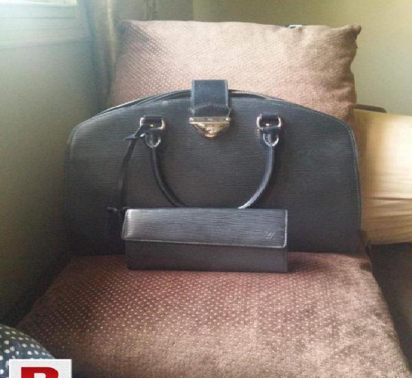 Original lv handbag and wallet. made of epi leather. very