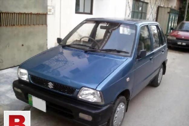 Suzuki mehran 2009 get on easy monthlly installment