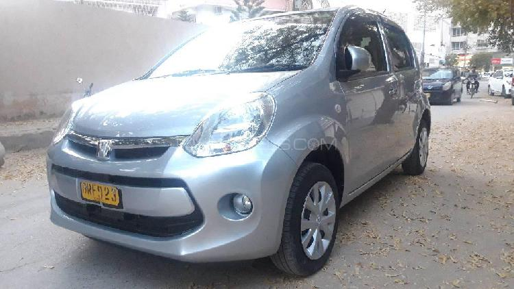 Toyota passo x g package 2016