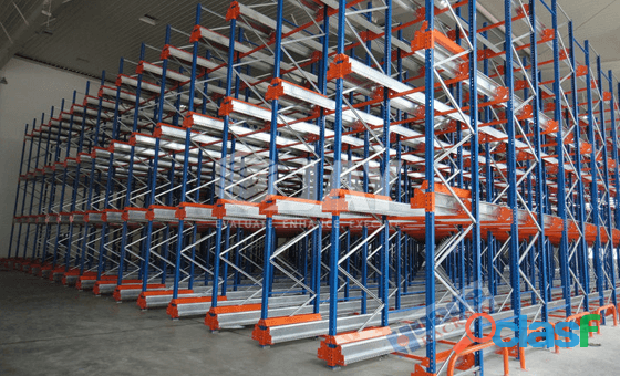 Pallet Shuttle Racking System in Pakistan 2