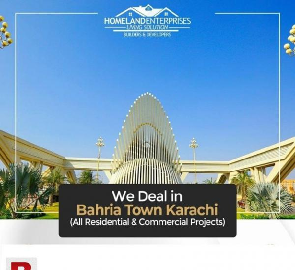 Bahria p-27 plot for sale