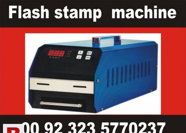 Rubber stamp maker