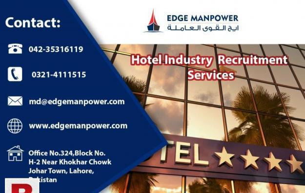 Hotel industry recruitment services