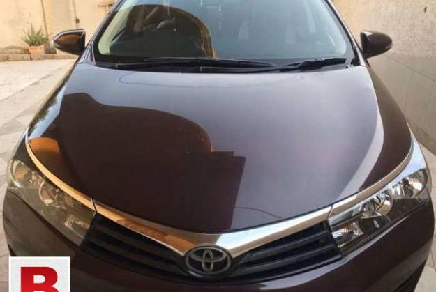 Toyota corolla xli vvti 2015 get on easy monthly installment