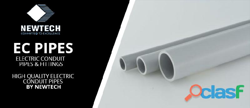 The electric conduit pipes and fittings | newtech pipes