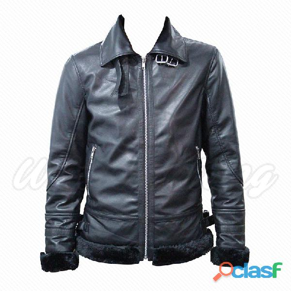 leather biker fashion jackets for gents 2