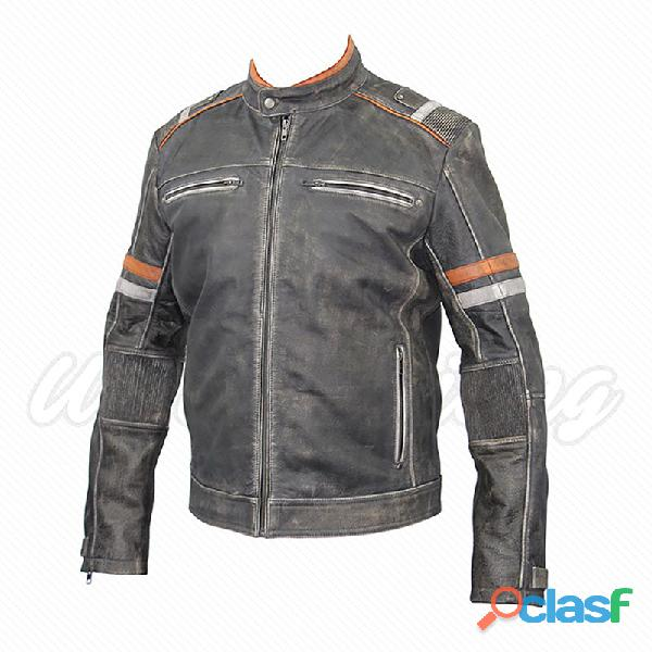 leather biker fashion jackets for gents 4