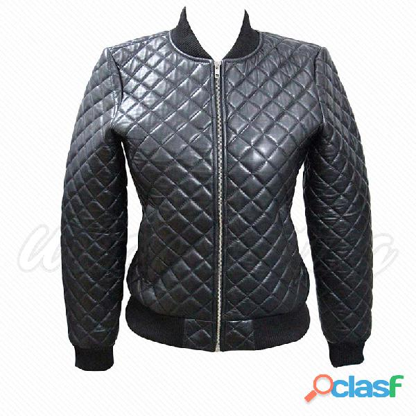 leather biker fashion jackets for ladies fur jackets 4