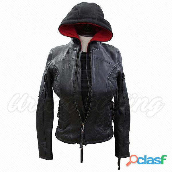 leather biker fashion jackets for ladies fur jackets 6