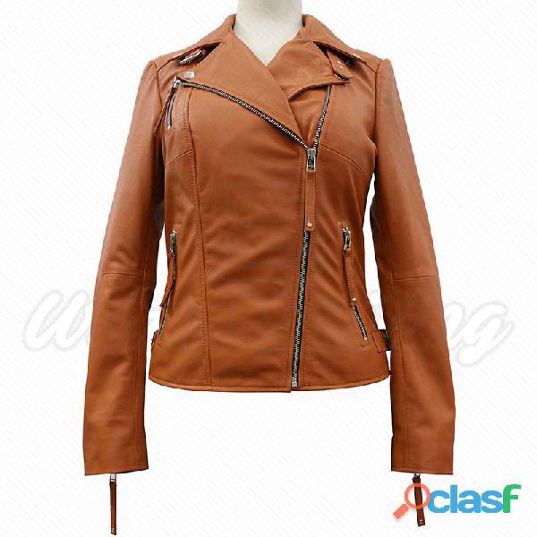 leather biker fashion jackets for ladies fur jackets 8