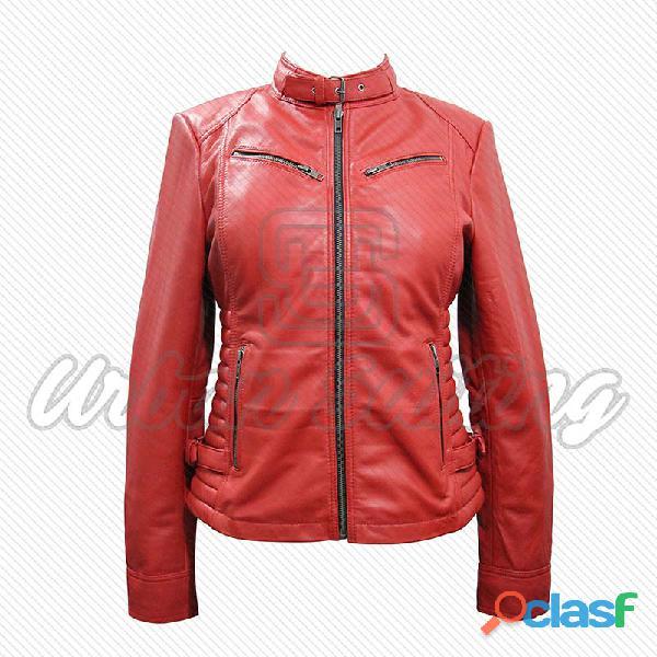leather biker fashion jackets for ladies fur jackets 11