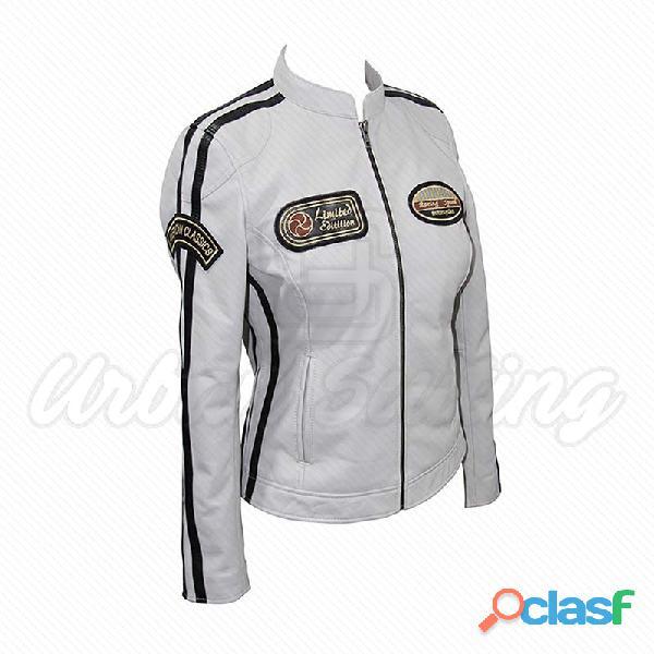 leather biker fashion jackets for ladies fur jackets 2