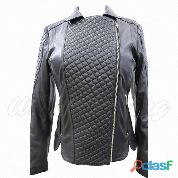 leather biker fashion jackets for ladies fur jackets 1