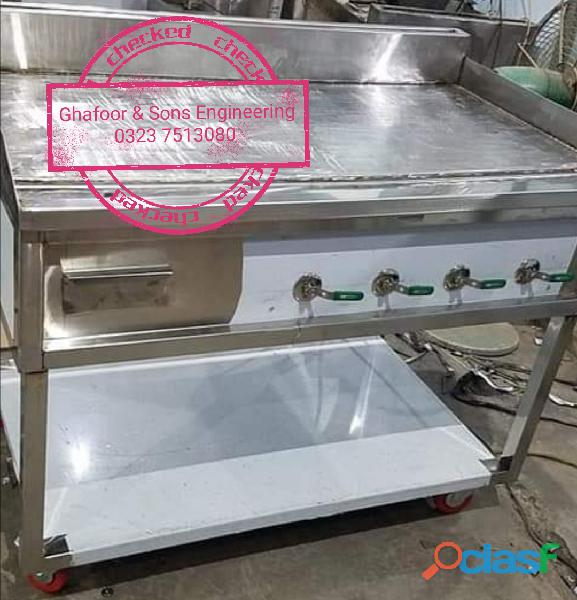 Hot plate stainless steel