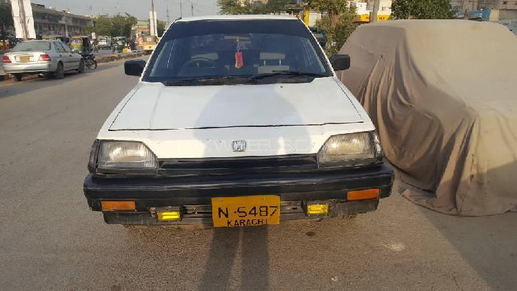 Honda civic gl 1984