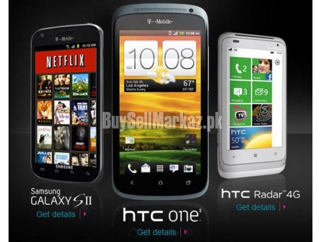 We deals in new & used imported mobile phones