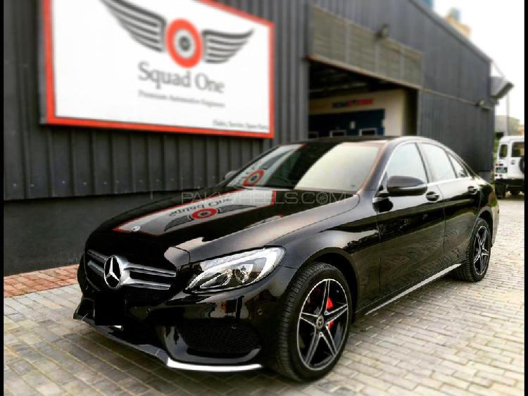 Mercedes benz c class c180 amg 2017