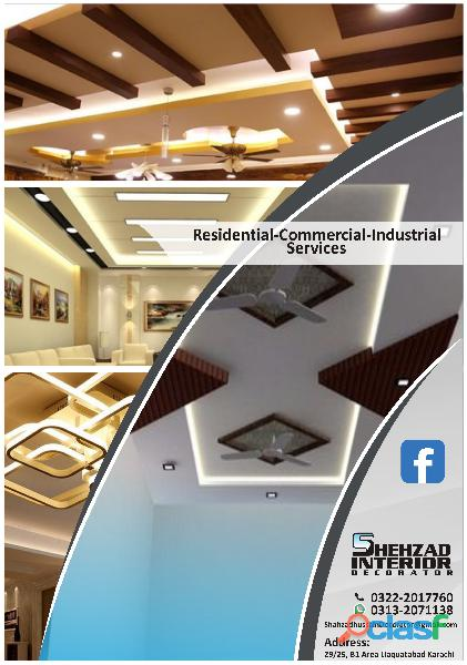 Ceiling design gypsum ceiling wallpaper