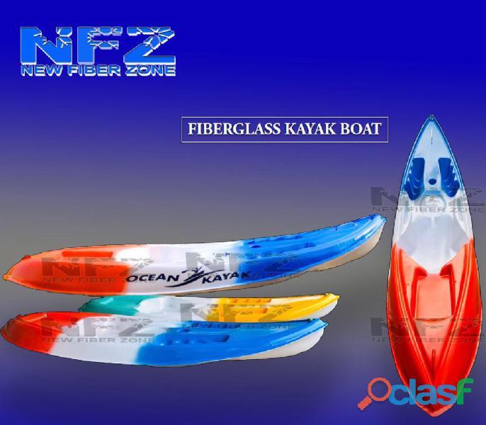 Fiberglass kayak boat