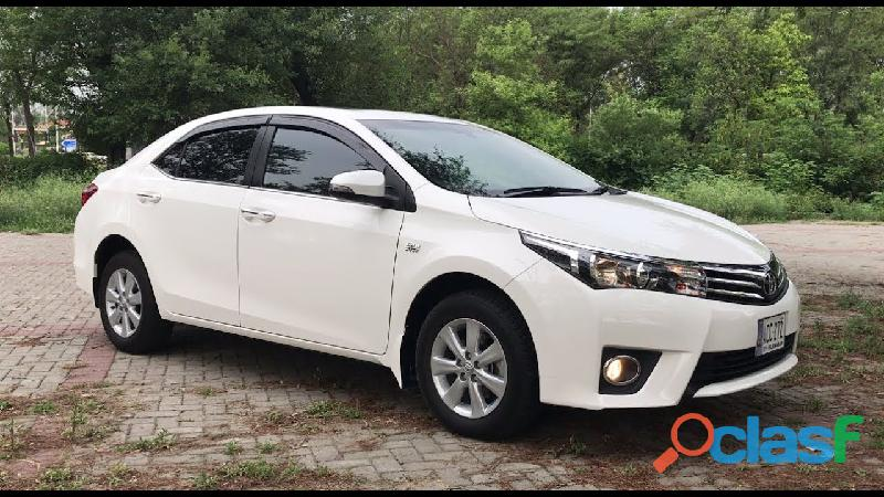 Toyota corolla altis 2015 on eassy installments