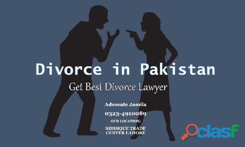 Know divorce law and procedure in pakistan with best lawyers
