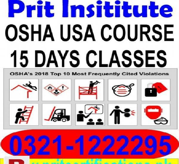 Osha course in pakistan