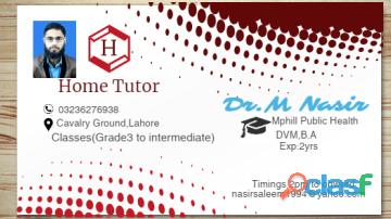 Home tutor avai