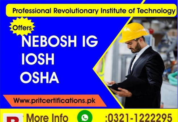Iosh working safely course in pakistan