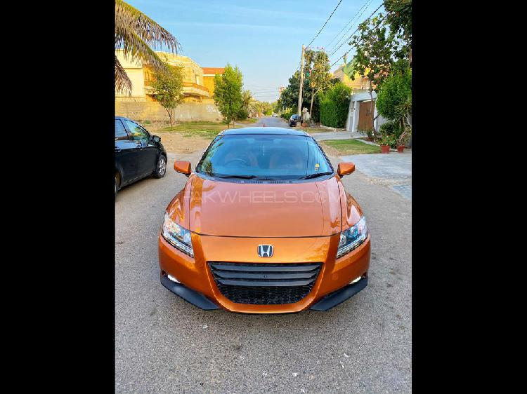 Honda cr-z sports hybrid alpha master label 2011