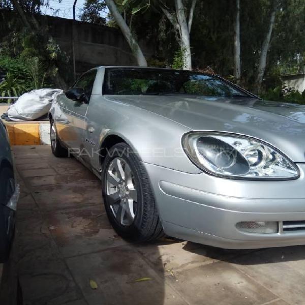 Mercedes benz slk class slk230 kompressor 2002