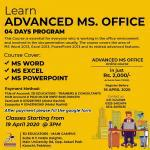 Learn advanced ms. office live online course
