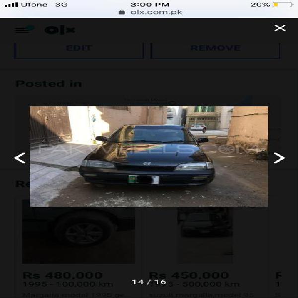 Suzuki margalla gl plus 1996