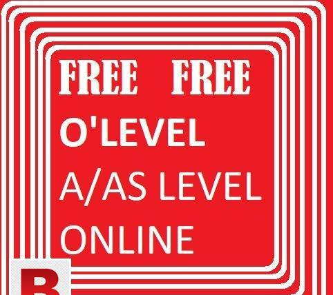 Free online o'level / a'level physics chemistry