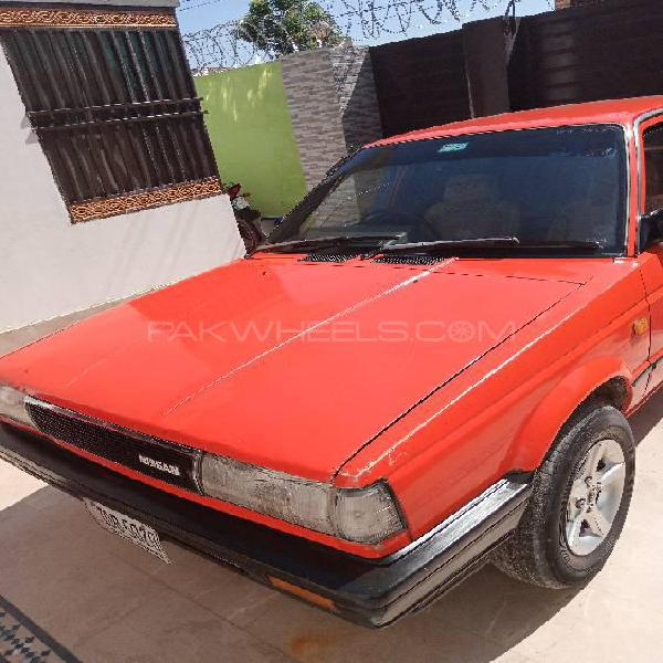 Nissan sunny ex saloon 1.6 (cng) 1986