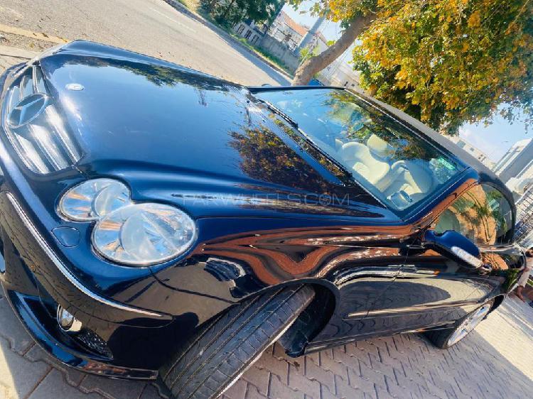 Mercedes benz clk class clk200 kompressor 2008