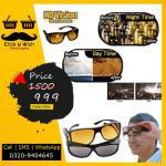 Pack of 2 hd vision wrap around day and night glasses,